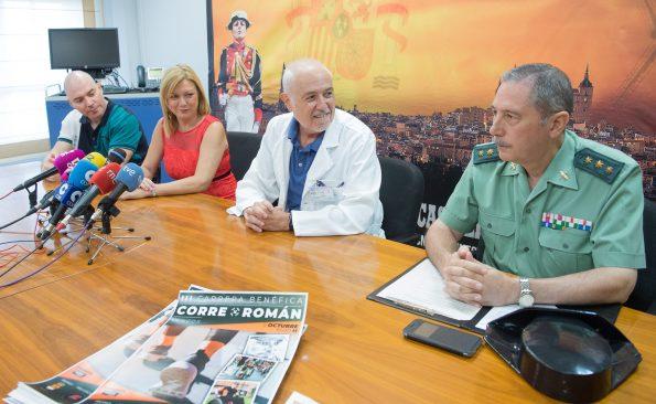 Presentación de la III Edición de la Carrera Corre por Román. (Foto: Carlos Monroy // SESCAM)