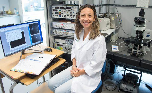 Dra. Juliana Martins Da Rosa. Investigadora del Hospital Nacional de Parapléjicos.