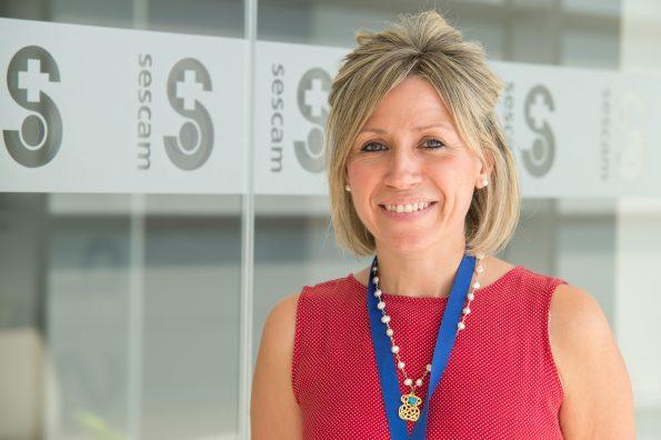 La investigadora Carmen Fernández (Foto: Carlos Monroy // SESCAM)