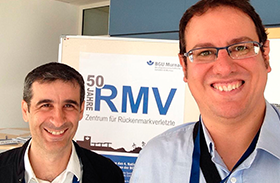 Dos investigadores de Parapléjicos, ponentes en el foro científico internacional de la lesión medular en Alemania