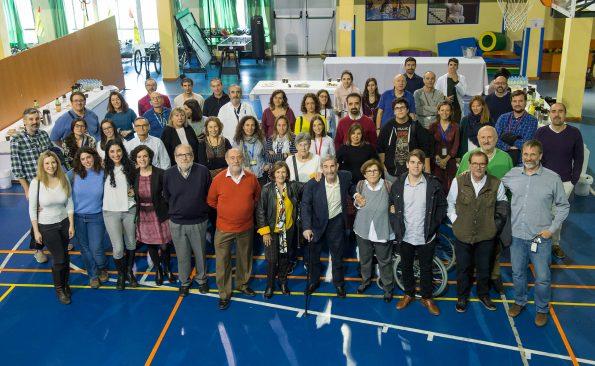 Homenaje al profesor Nieto Sampedro en el Hospital Nacional de Parapléjicos. (Foto: Carlos Monroy // SESCAM)