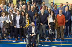 Parapléjicos homenajea al científico Nieto Sampedro, principal artífice de la Unidad de Investigación del centro