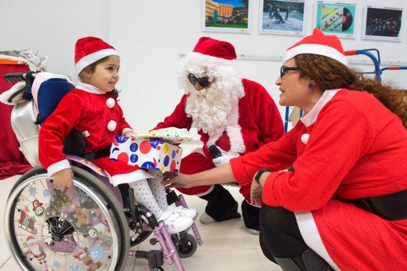 Navidad en el Hospital Nacional de Parapléjicos