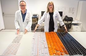 Un proyecto de Parapléjicos basado en el reetiquetado disminuye los residuos contaminantes en los servicios de farmacia de los hospitales