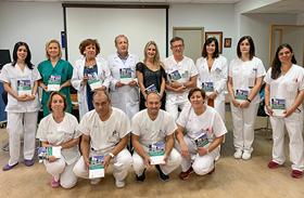 La división de Enfermería del HNP comparte su experiencia con el mundo sanitario en un manual de procedimientos