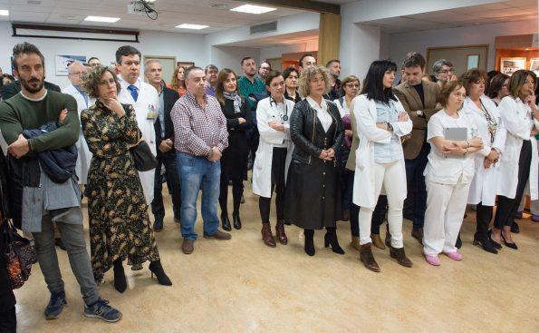 Presentación de Vicenç Martínez Ibáñez como nuevo gerente del Hospital Nacional de Parapléjicos
