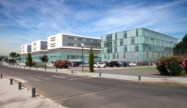 Fachada Hospital Nacional de Parapléjicos