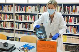 Parapléjicos fomenta la lectura durante la estancia de los pacientes en tiempos del Covid-19