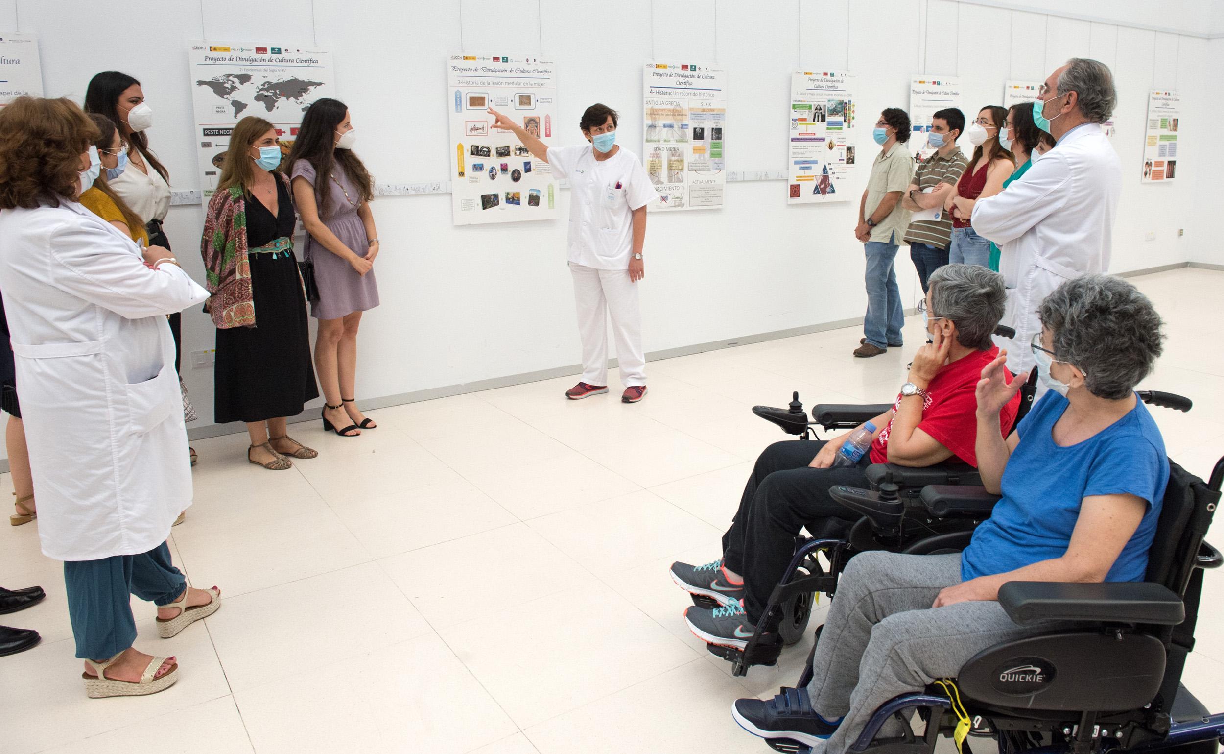 exposición de carteles divulgativos 'Salud y mujer
