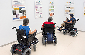 La UCLM y Parapléjicos inauguran la muestra 'Salud y mujer. El arte del cuidado desde una visión histórica'