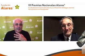 Parapléjicos y la CEOE, premios de la Fundación Alares en la modalidad de instituciones