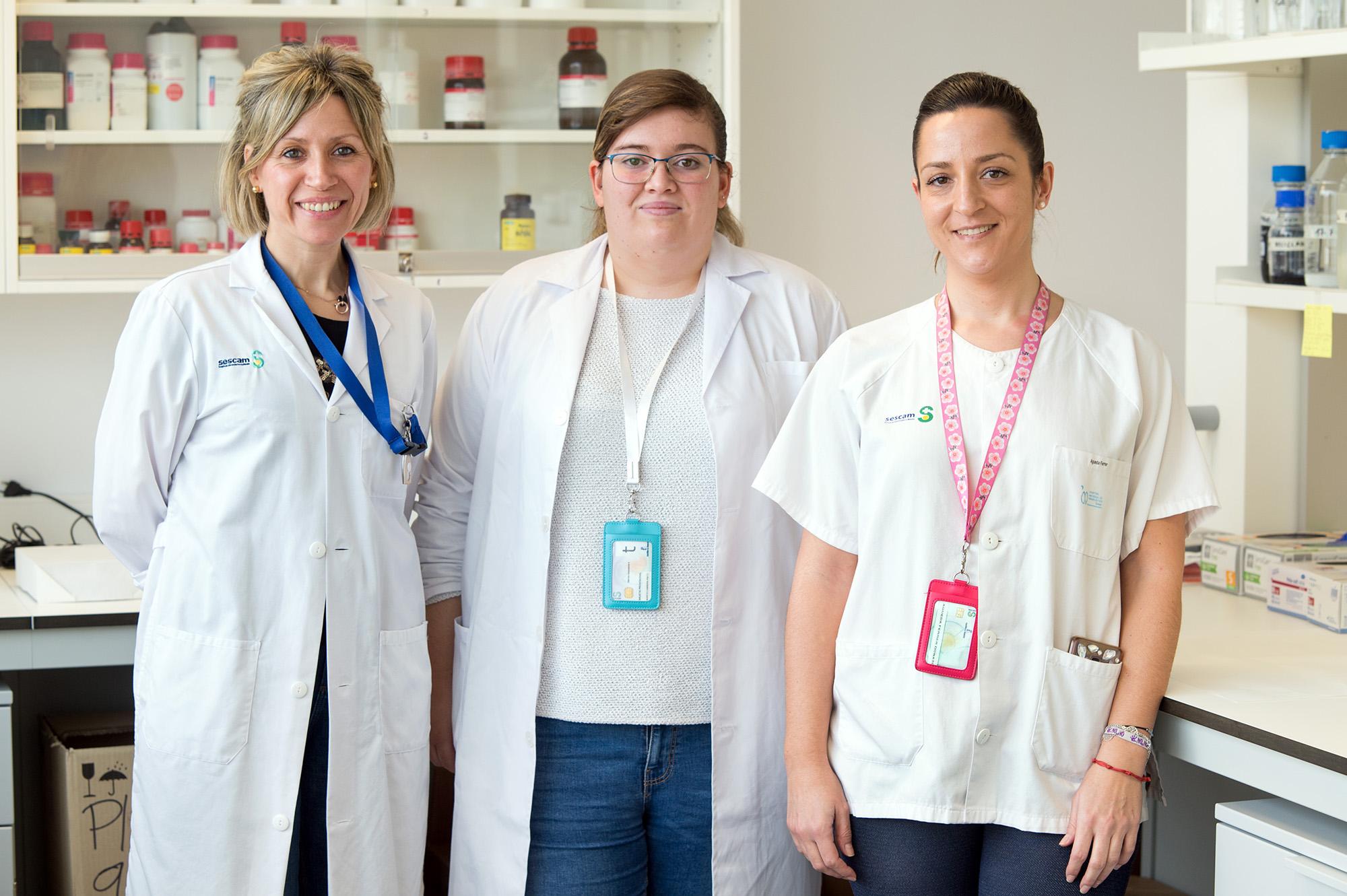 Grupo de investigación de Neurometabolismo (GMET) del Hospital Nacional de Parapléjicos. (Foto: Carlos Monroy // SESCAM)