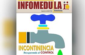 La revista Infomédula dedica su nueva edición a la problemática de la incontinencia