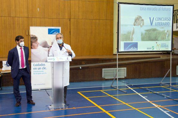 Entrega de premios del V Concurso Literario del Hospital Nacional de Parapléjicos (Foto: Carlos Monroy // SESCAM)