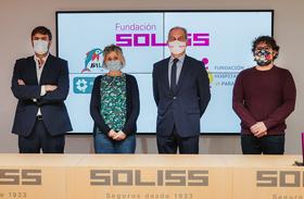 La Fundación del Hospital de Parapléjicos y la Fundación Soliss firman un convenio para apoyar la investigación en ELA