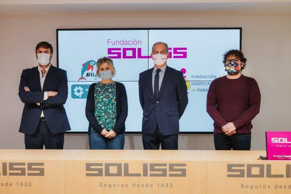 Grupo Firma Convenio Fundación Soliss y Fundación HNP