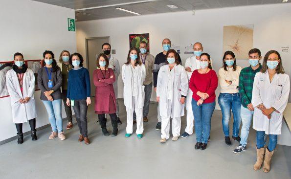 Científicos del Hospital Nacional de Parapléjicos celebran de manera virtual la Semana del Cerebro. (Foto: Carlos Monroy//SESCAM)