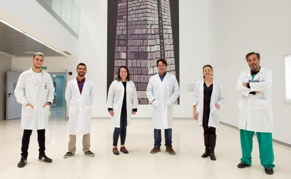 Grupo de Química Neuro-Regenerativa (GQNR) de la Unidad de Investigación del Hospital Nacional de Parapléjicos. (Foto: Carlos Monroy // SESCAM)