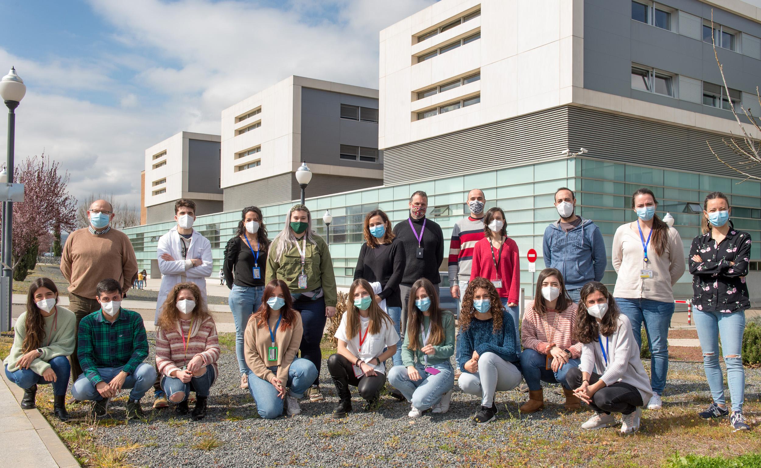 Participantes en la Semana del Cerebro 2021 en el Hospital Nacional de Parapléjicos (Foto: Carlos Monroy // SESCAM)