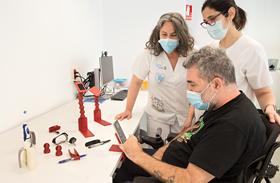 Más de doscientos pacientes se han beneficiado de la tecnología de impresión en 3D en el Hospital Nacional de Parapléjicos