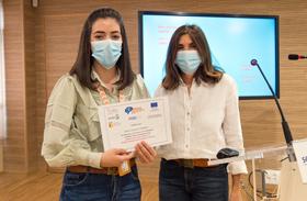 El video sobre Esclerosis Múltiple de Celia Camacho primer premio de la Semana del Cerebro organizada por Parapléjicos