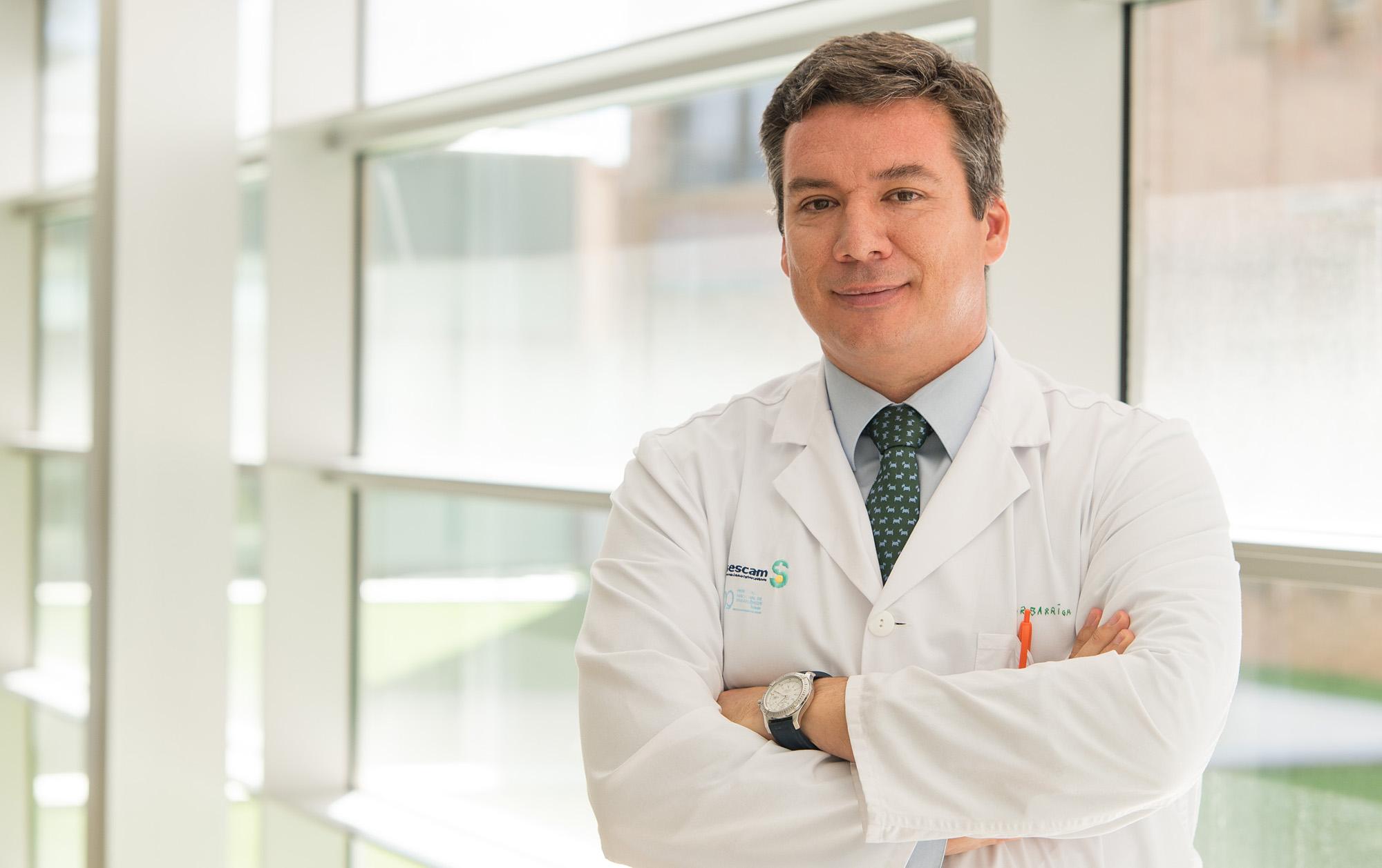 Dr. Andrés Barriga Martín, traumatólogo del Hospital Nacional de Parapléjicos.  (Foto: Carlos Monroy // SESCAM)