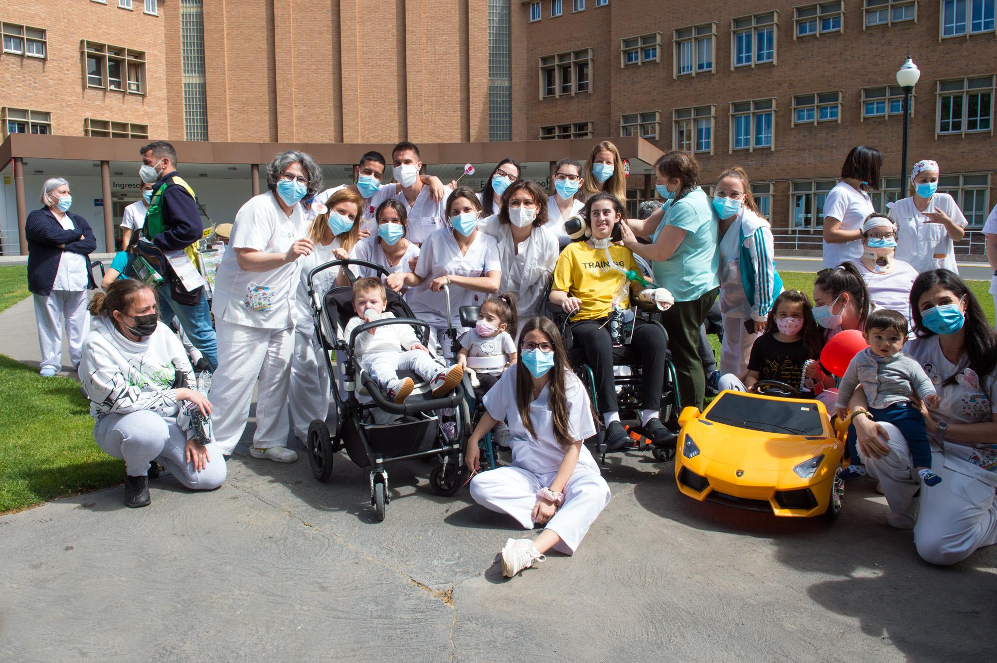 Celebramos el Día del Niño Hospitalizado en el HNP