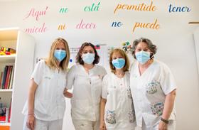 Terapia Ocupacional infantil del HNP, protagonista de la revista Infomédula