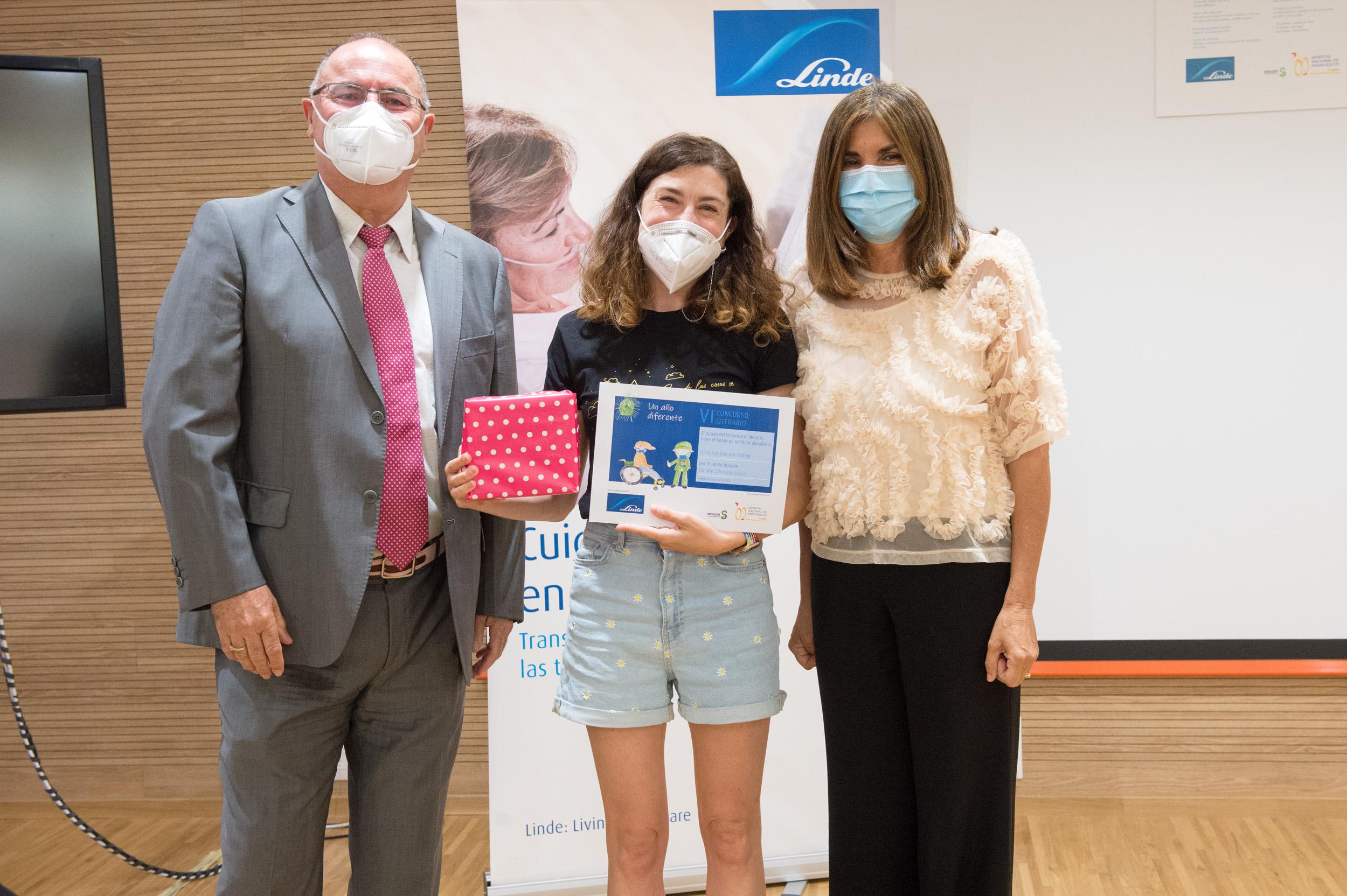 Primer premio, Lucía Santamaría Vallejo