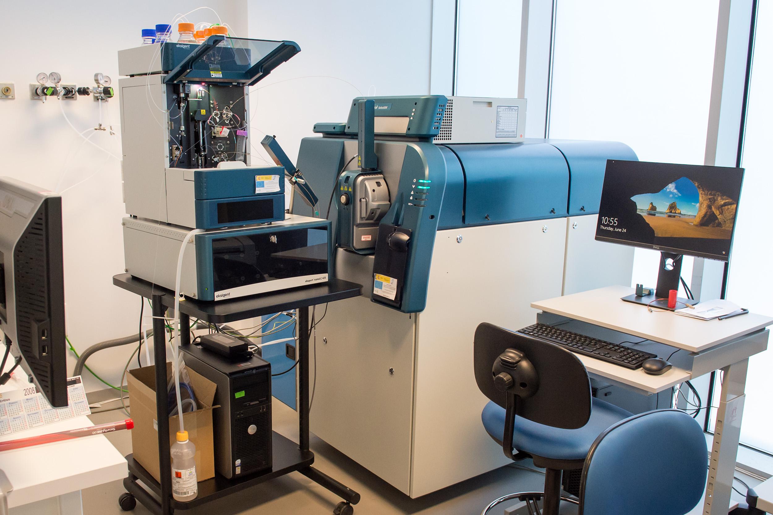 analizador de masas TripleTOF® (Sciex),