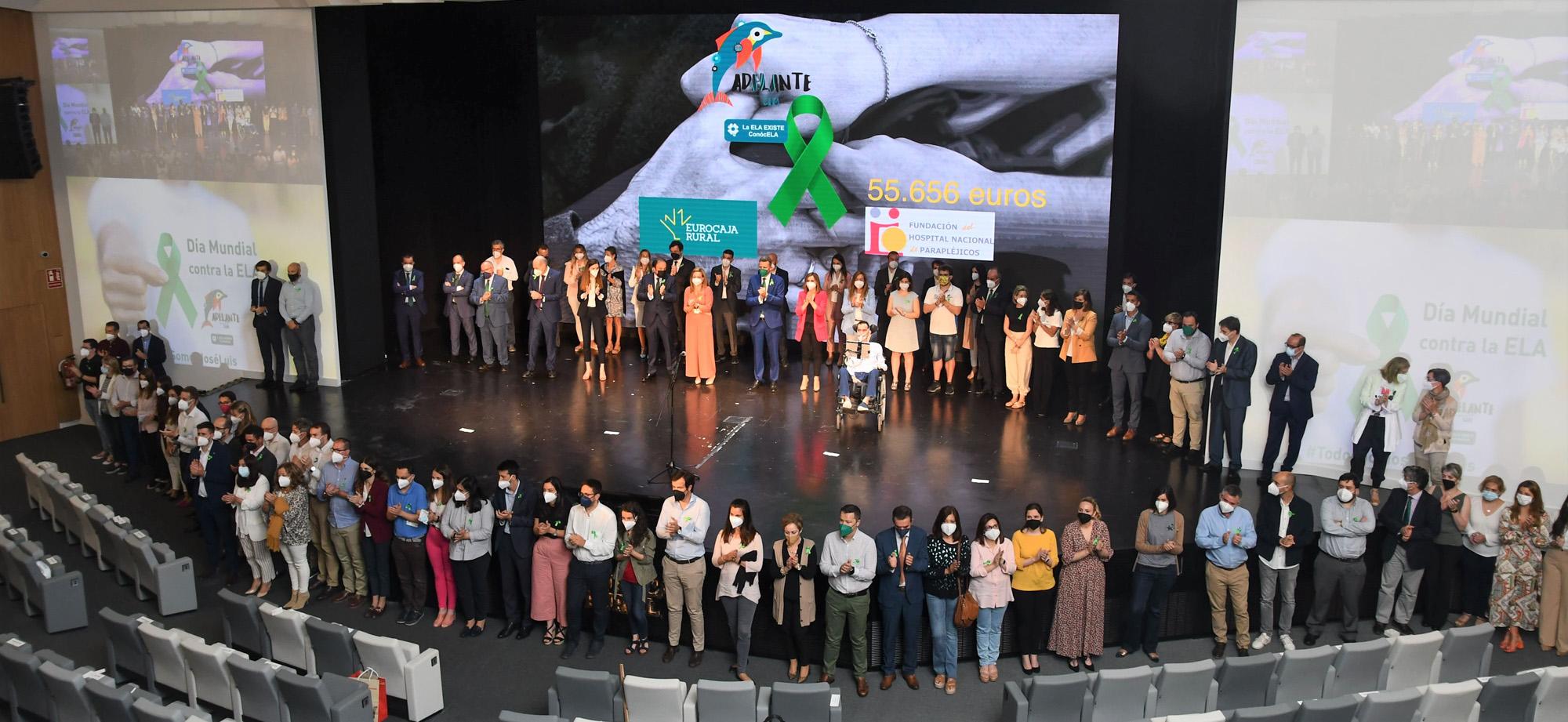FOTO FAMILIA RECAUDACIÓN CAMPAÑA CONTRA LA ELA