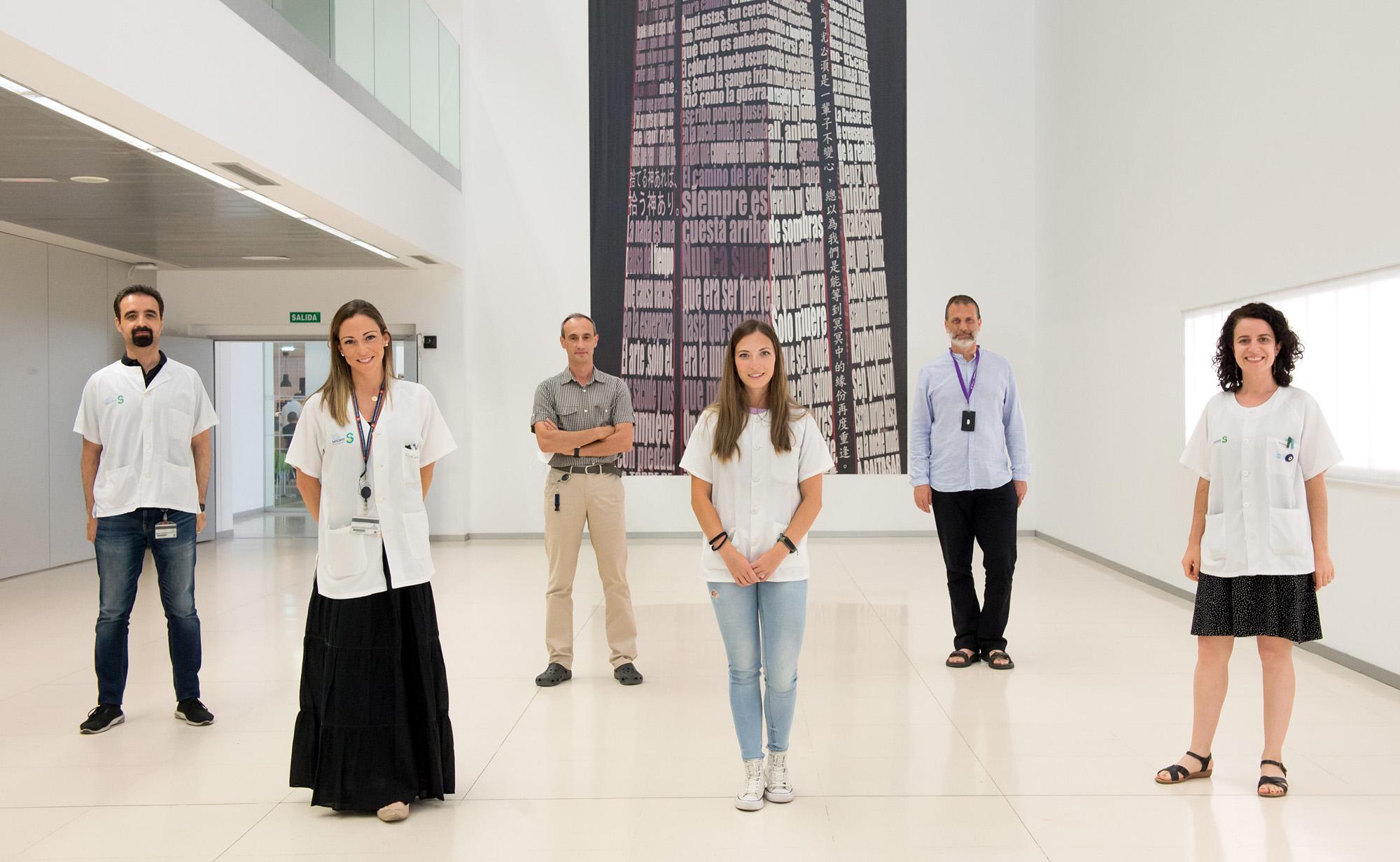 Grupo de investigación Neuroprotección Molecular del Hospital Nacional de Paraplejicos (Foto: Carlos Monroy // SESCAM)