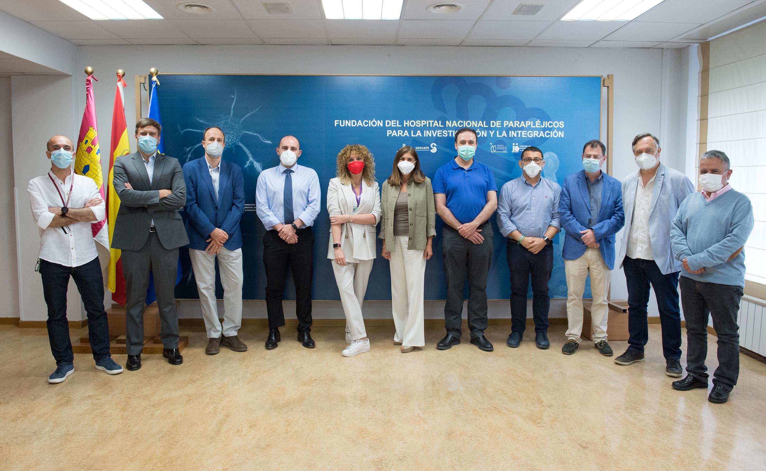 Comisión de Investigación de la Fundación del Hospital Nacional de Parapléjicos (Foto: Carlos Monroy // SESCAM)
