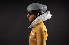 Participamos en el desarrollo y certificación clínica de un casco para prevenir las lesiones medulares por accidente de bici