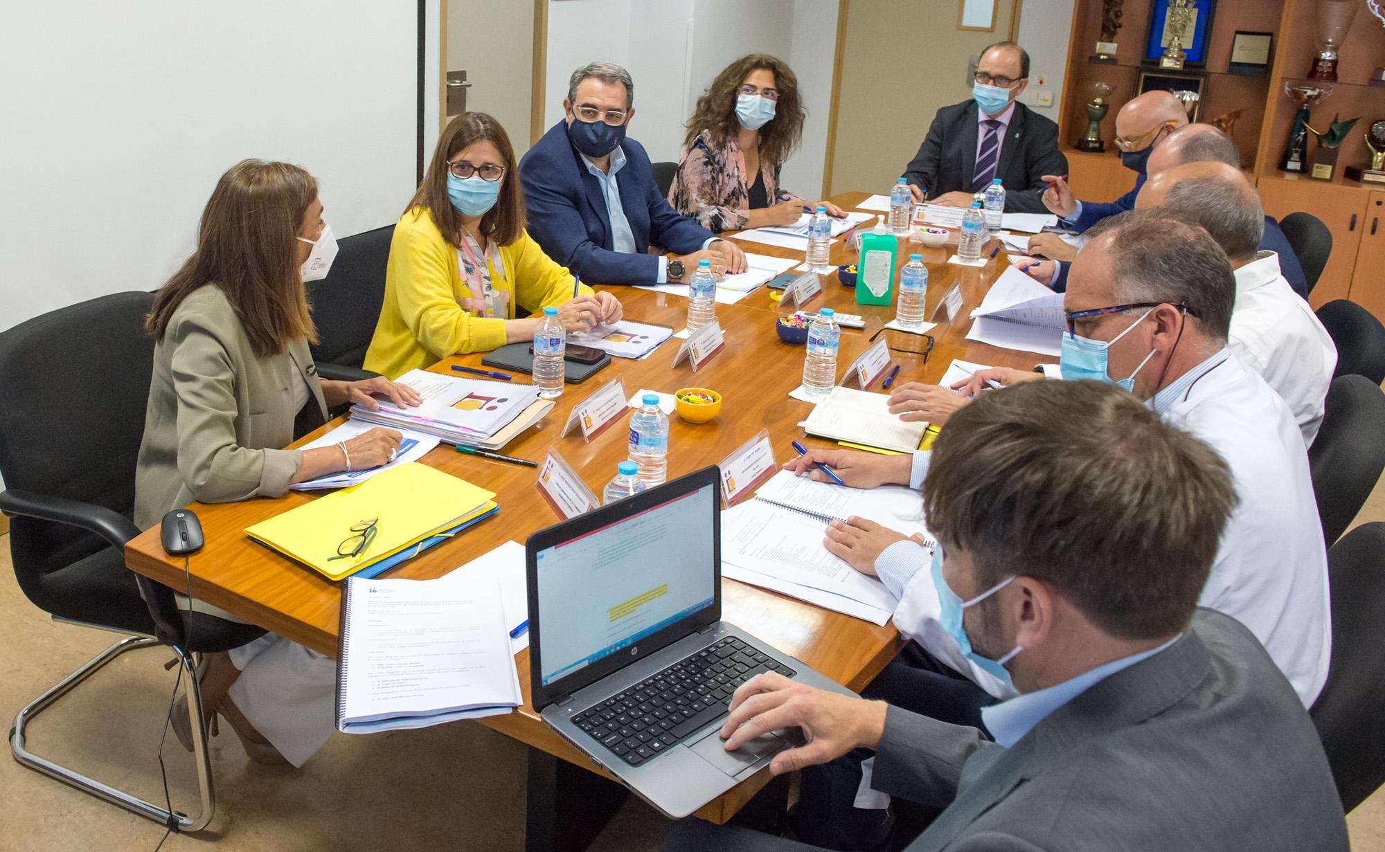 Reunión del Patronato de la Fundación del Hospital Nacional de Parapléjicos (Foto: Carlos Monroy // SESCAM)